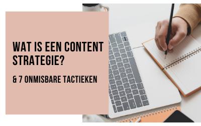Wat is een Content Strategie?